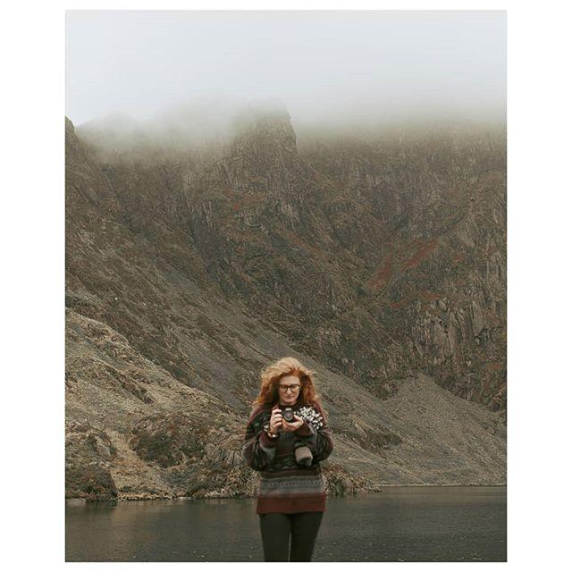 Out at the Cadair Idris tarn earlier this year  Photo: @jonny_noakes  #adventure #adventurephotography #nature #outdoor #outdoorphotography #hiking #climbing #hike #mountain #cadairidris #tarn #vintage #vintagejumper #gingerhair #naturalredhead #weddingphotographer #weddingfilmmaker #sony #sonya7riii #a7riii #sonyfilm #woollyjumper #jumper #jumperweather #jumperseason #wales #welshphotographer #welshweddingphotographer #northwestweddings