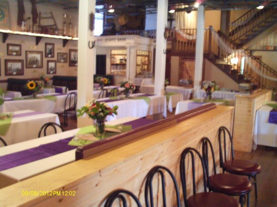 white w eggplant table runners ,staircase.jpg