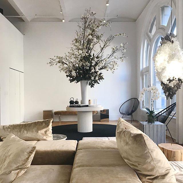 The prettiest studio for yoga this morning. Feeling zen 😎 - #hummingpuppy #hummingpuppynewyork #interiors  #nyc #chelsea #designinspo #yoga #exercisemotivation #citylife #igersnyc #instadesign