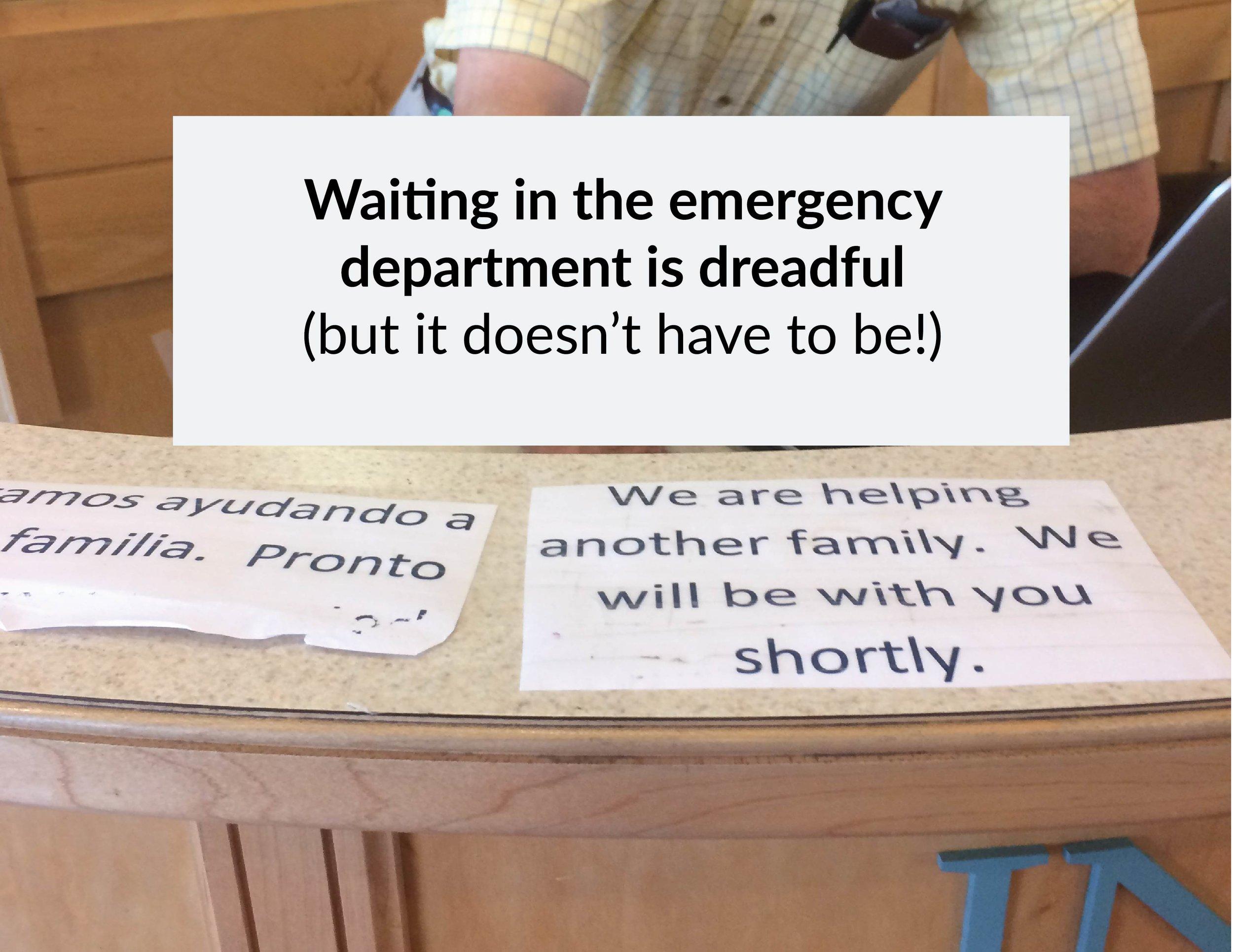 Taken at the Rhode Island Hospital Emergency Department