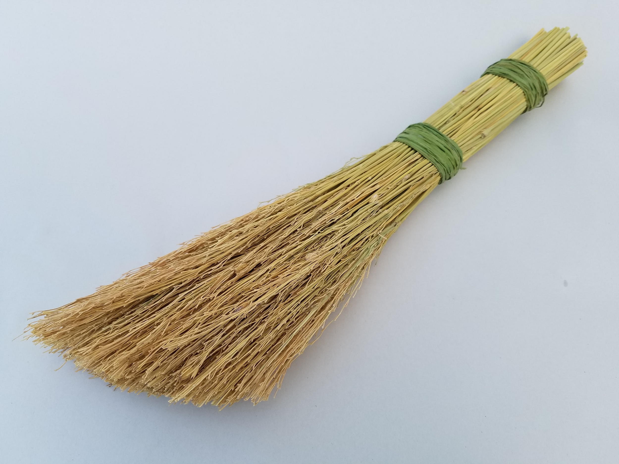 small rice straw broom
