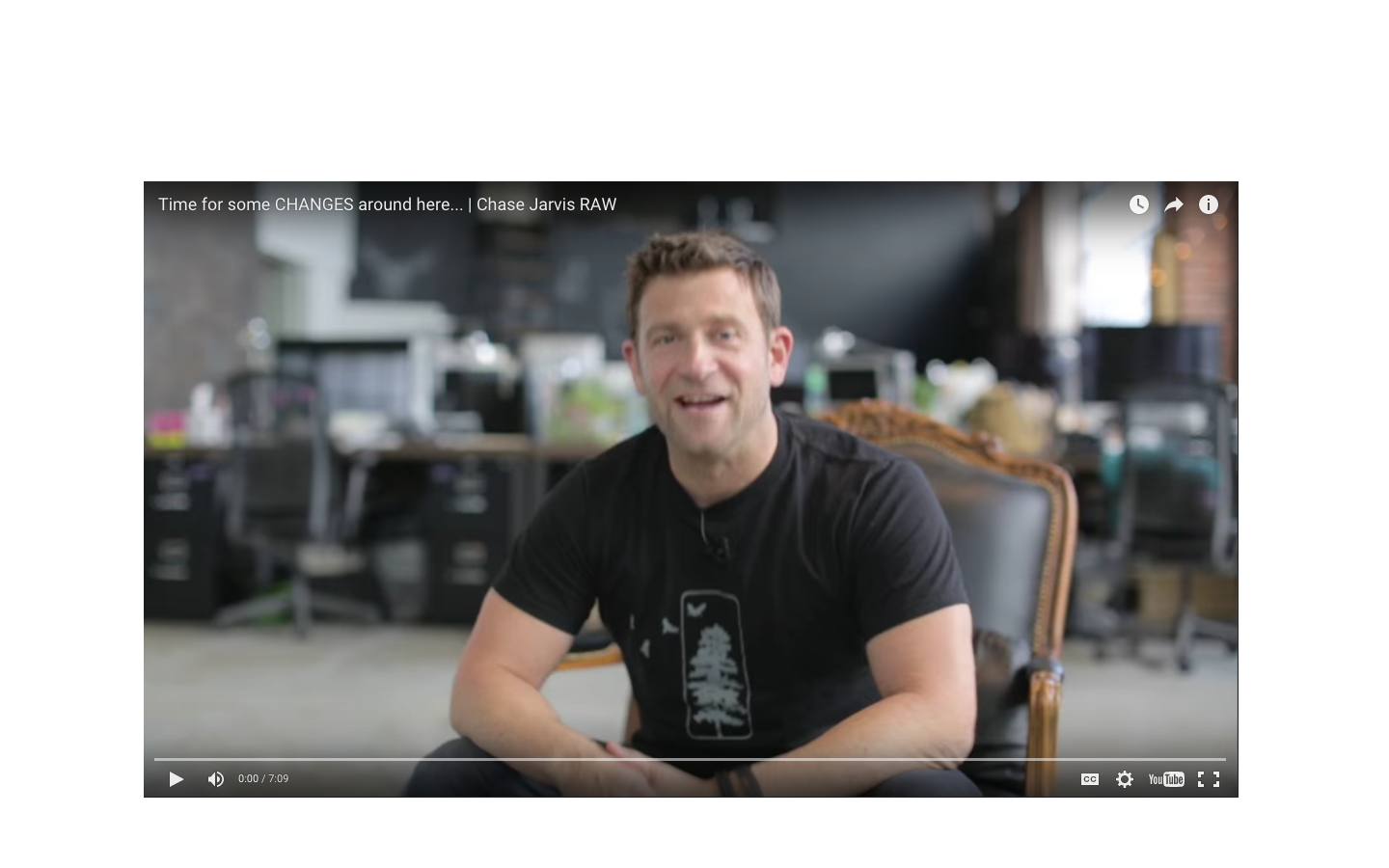 Tips on Creating Good Habits     Check out this short video by world-renowned photographer Chase Jarvis to get some tips about creating good habits in the new year.
