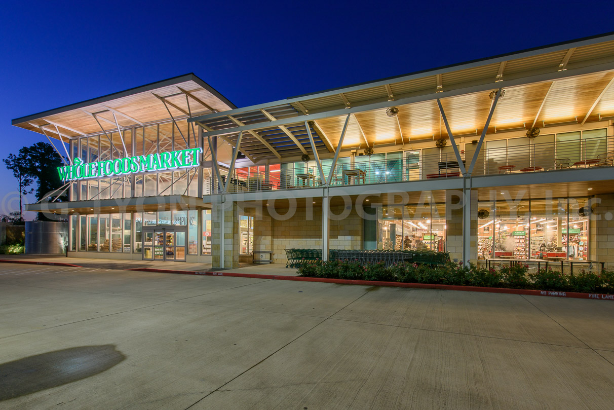 Whole Foods Vintage Park Location: Houston, Texas General Contractor: Arch-Con Corporation
