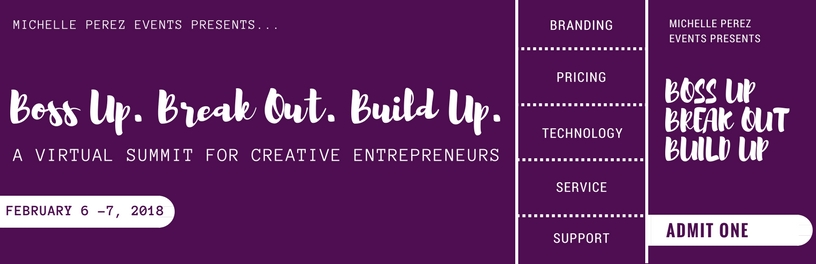 a virtual summit for creative entrepreneurs hosted by Michelle Perez Events