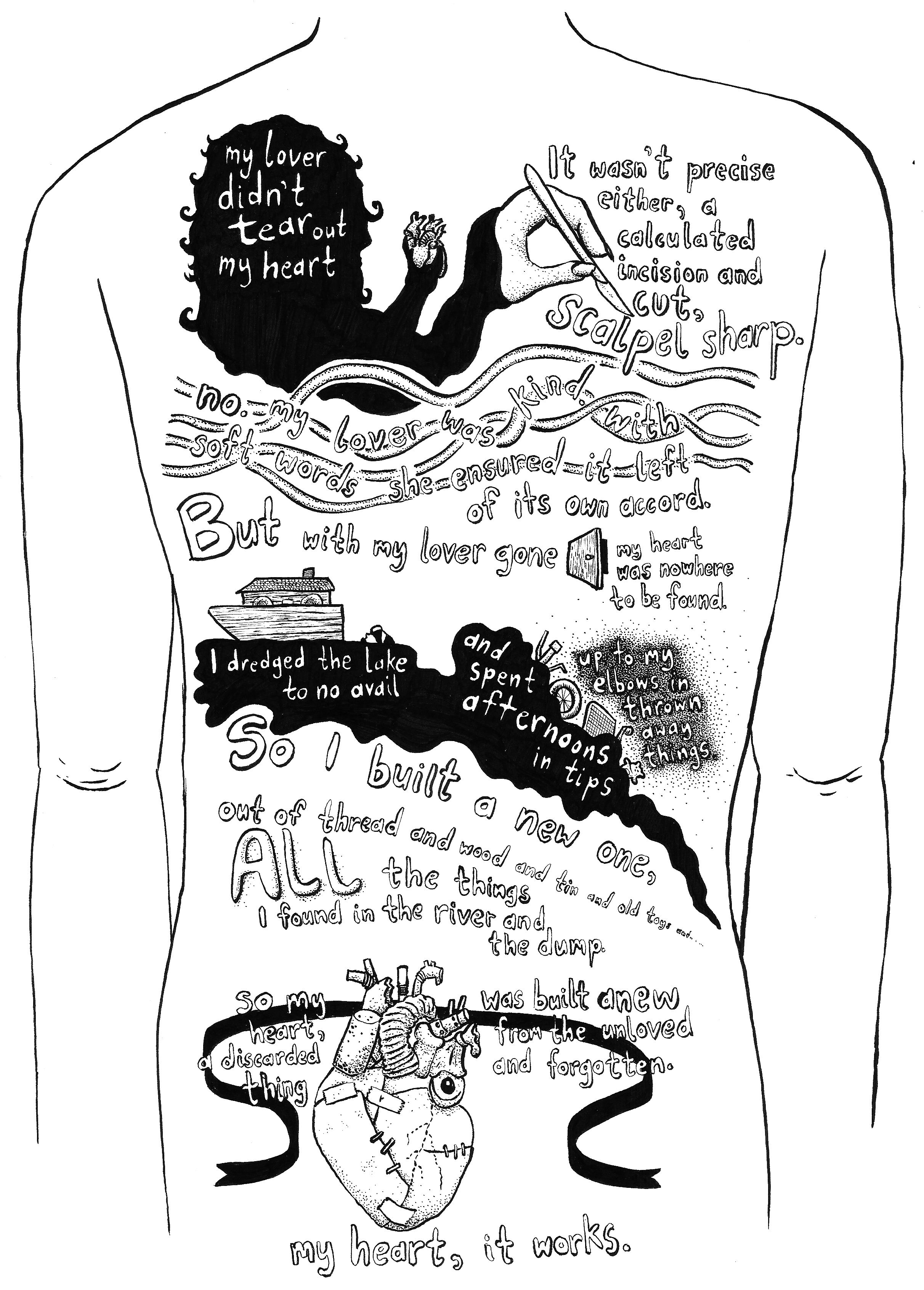 COMICS - Narrative-based illustration