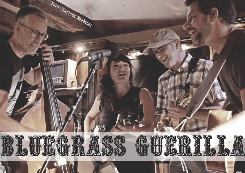 BLUEGRASS GUERILLA & VILLWOCK BROTHERS - Concert Sat. November 17th, 2018
