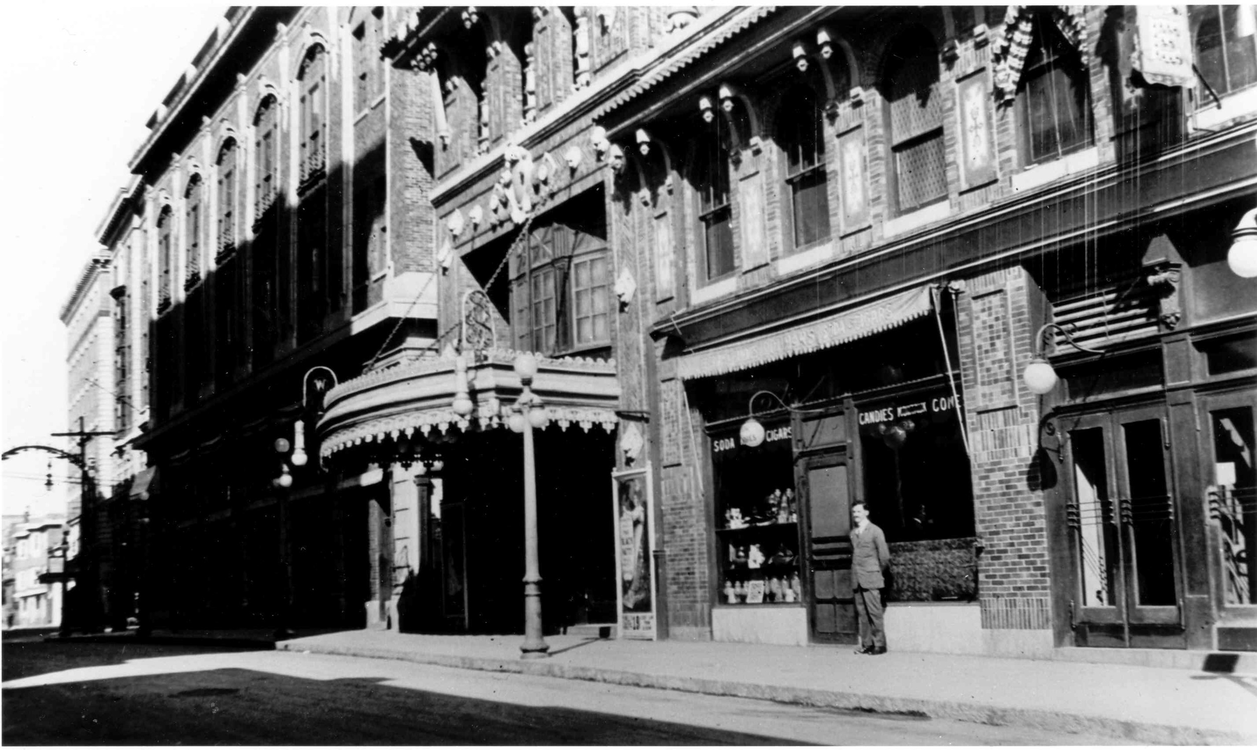 The Wells Theatre in 1913