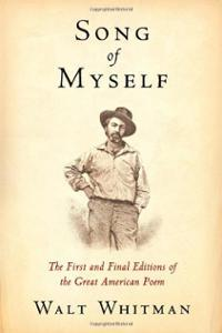 Cover of  Song of Myself  by Walt Whitman