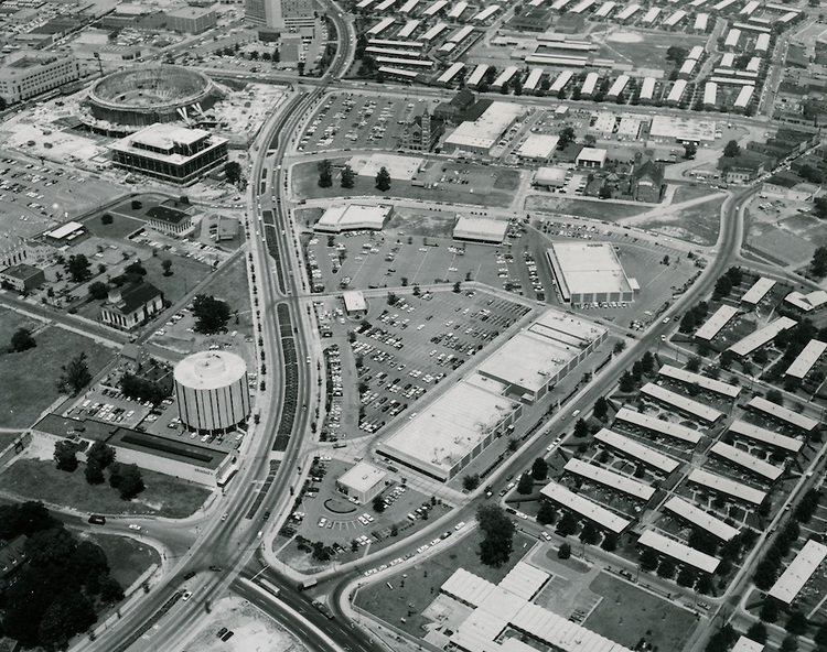 St. Paul's Boulevard in the 1970s (click to enlarge)