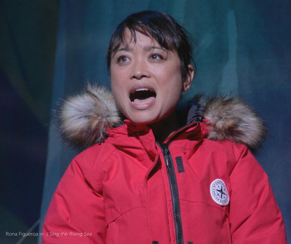 Rona Figueroa as Misaki in I Sing the Rising Sea