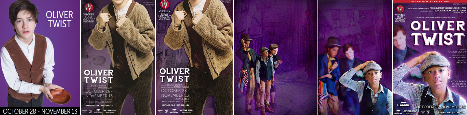 The evolution of the  Oliver Twist  poster