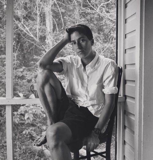 Alison Bechdel, 1995, photo by Robert Giard