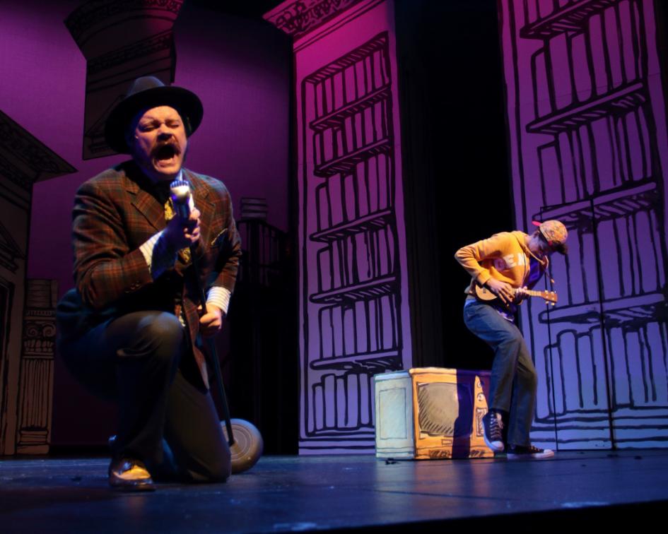 Summer camp teaching artist Ryan Clemens as Harry Wormwood in MATILDA THE MUSCIAL.