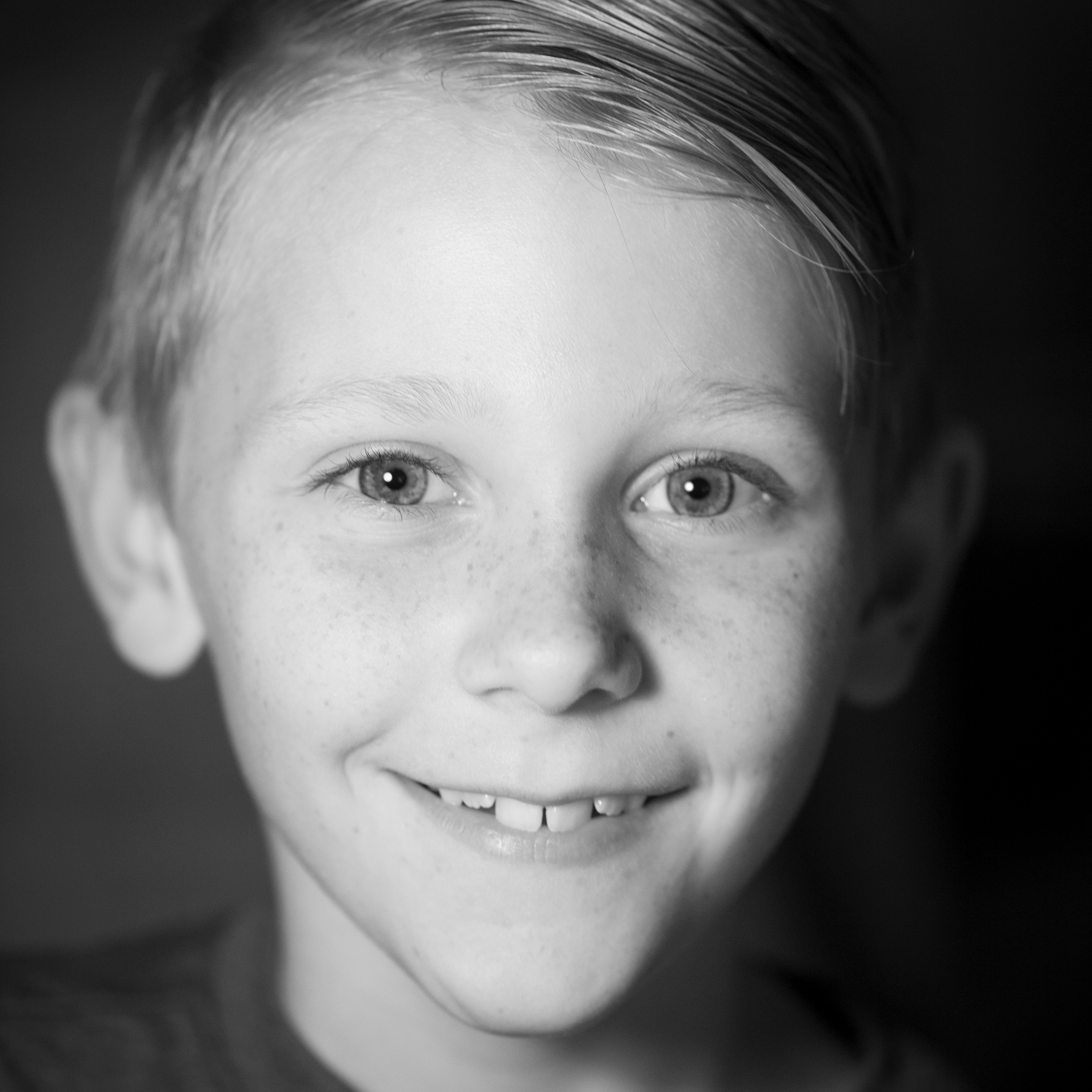 AIDAN CLARKSON - (Magical Creature) Tiny Tim in Christmas Carol...acting is his hobby now.