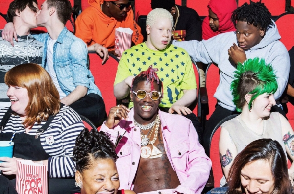 "Lil Yachty's album cover for ""Teenage Emotions."""