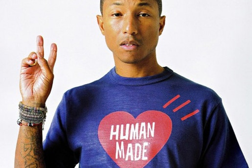 Pharrell Williams for Human Made C/O Hypebeast