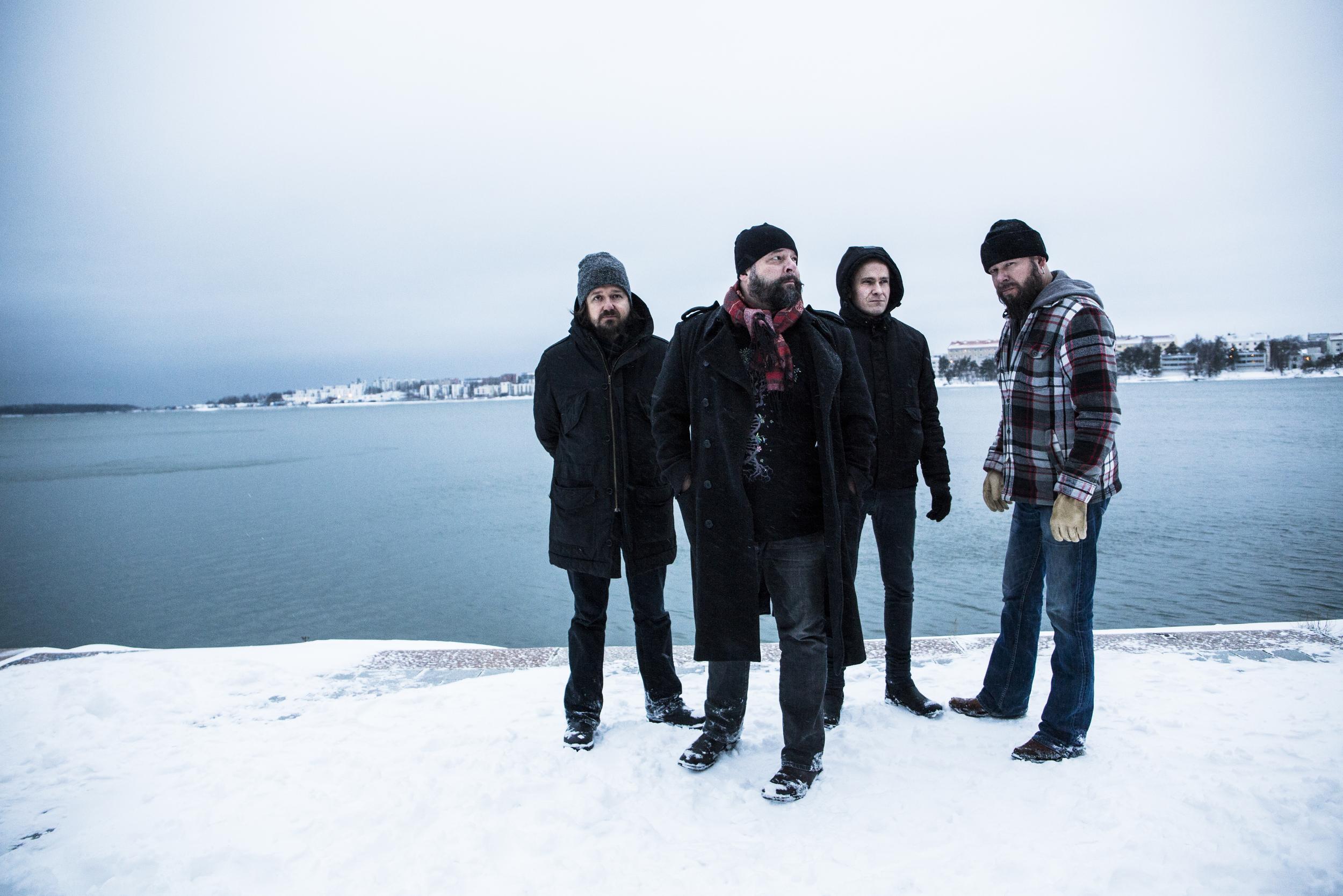 Notorious Finnish band CMX for Soundi.