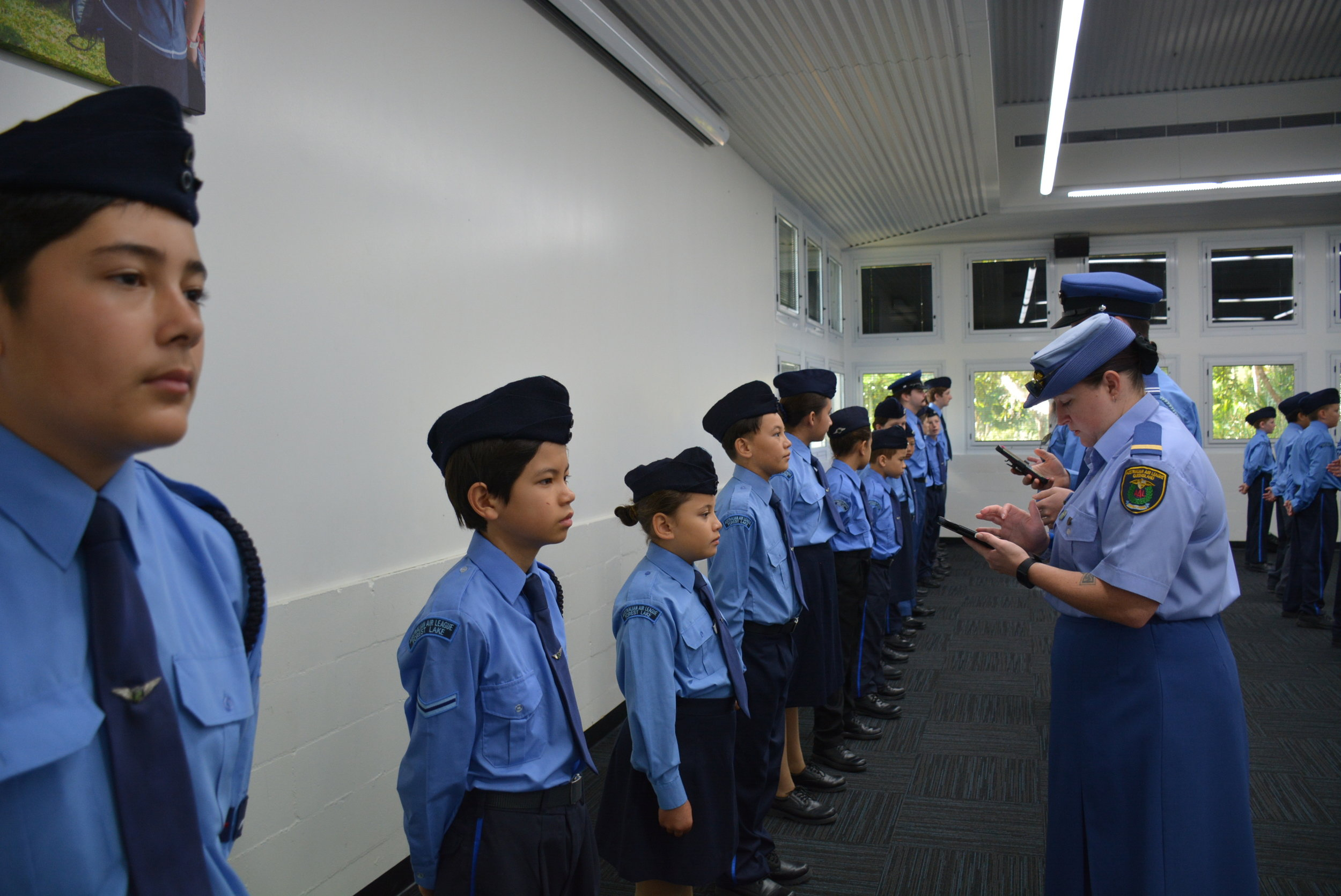 Uniform inspection at group review