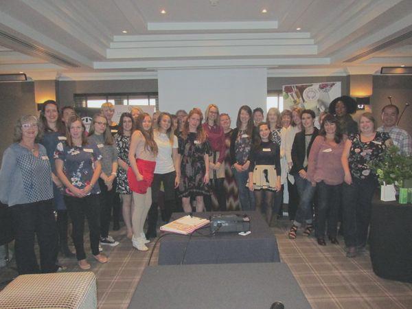 Lovely group pic c/o Rachel!