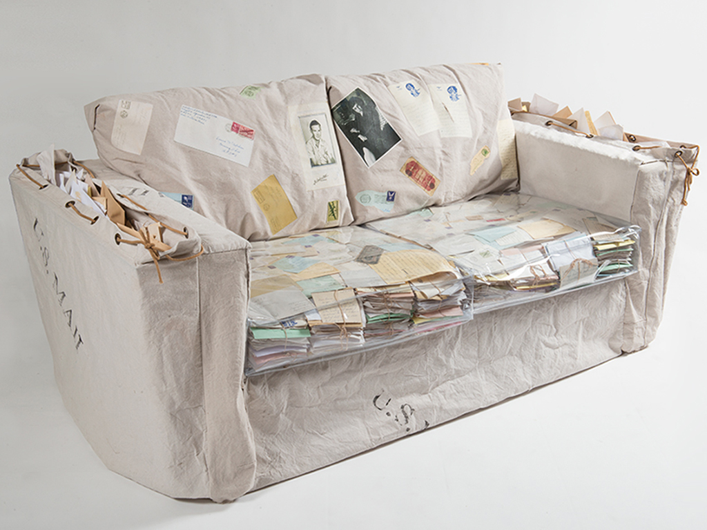 During World War II, when countless soldiers were separated from wives and girlfriends, it was common for them to express affection in letters.The letters in the seat cushions, sent from Robert Porter to Donna McCutcheon during and after World War II, are one example. They both married other people.