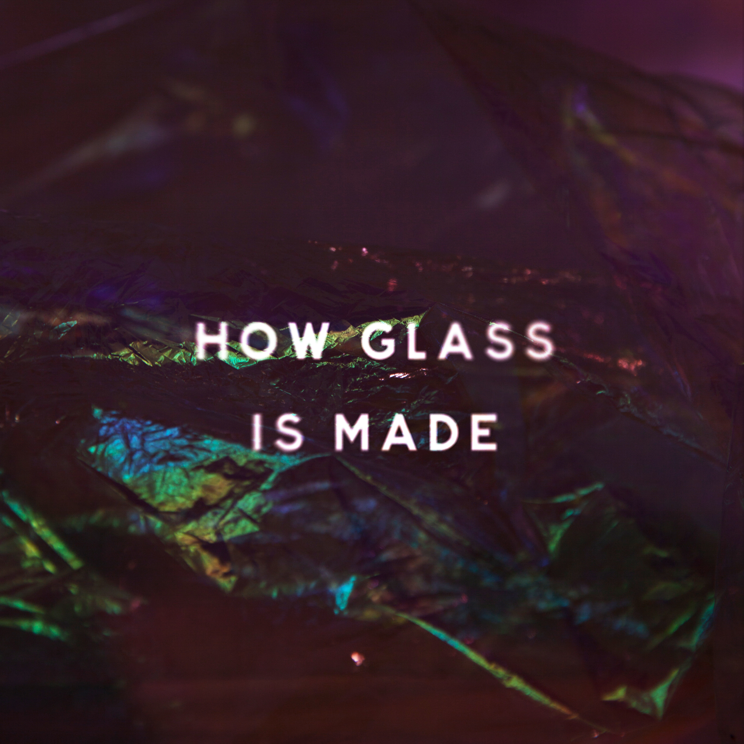 Raymond Larsen   How Glass Is Made   Table & Chairs, 2016