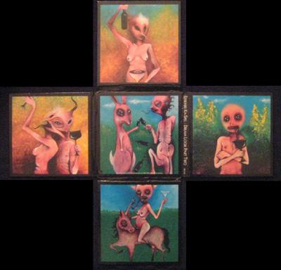 Edward Ka-Spel – Dream Logik Part Two & Burning Church (Version Hot) Double CD Cover & Inserts (2008)