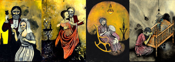 Story About a Witch – Artwork created for and used in the Film.