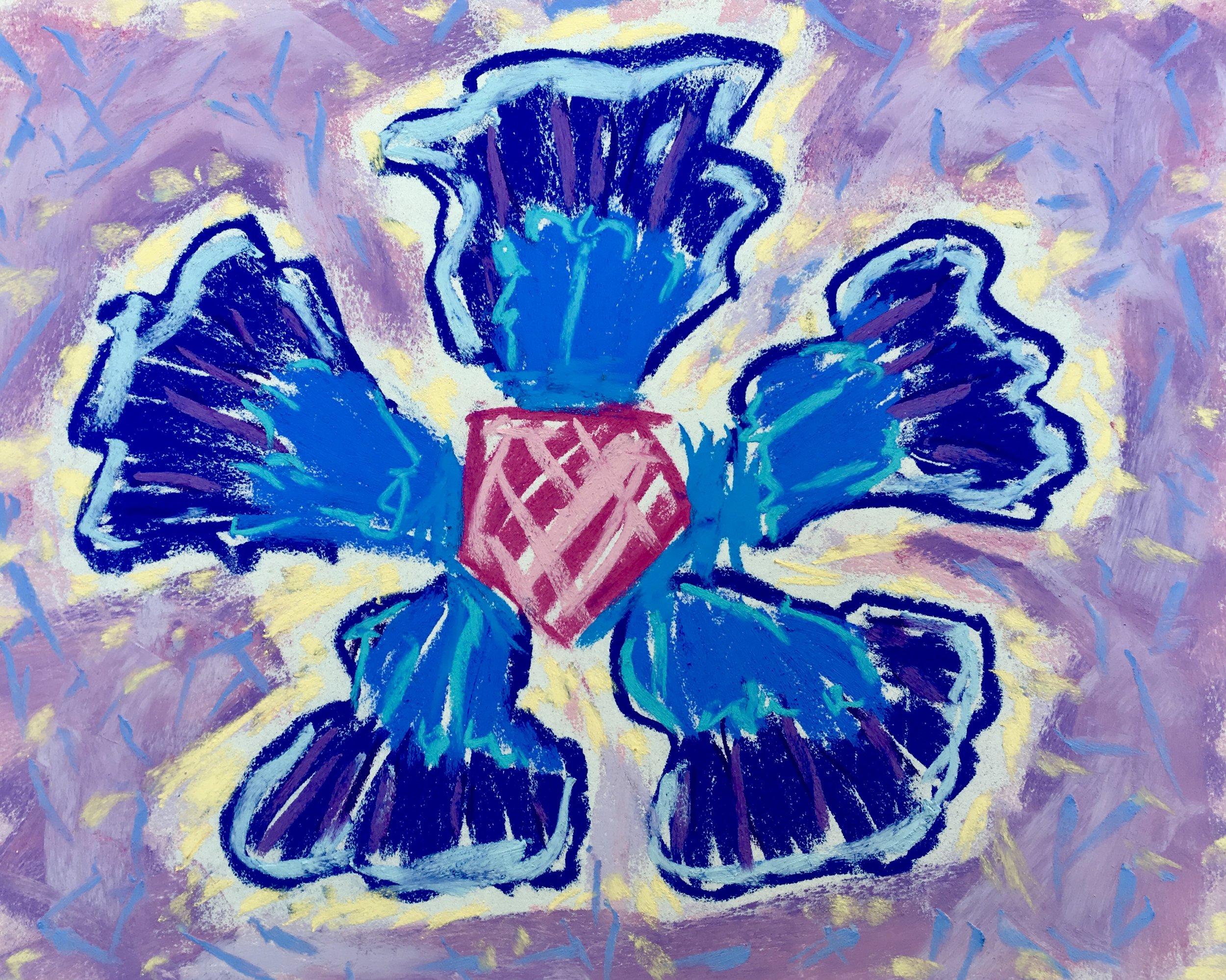 The Children's Garden - Blue