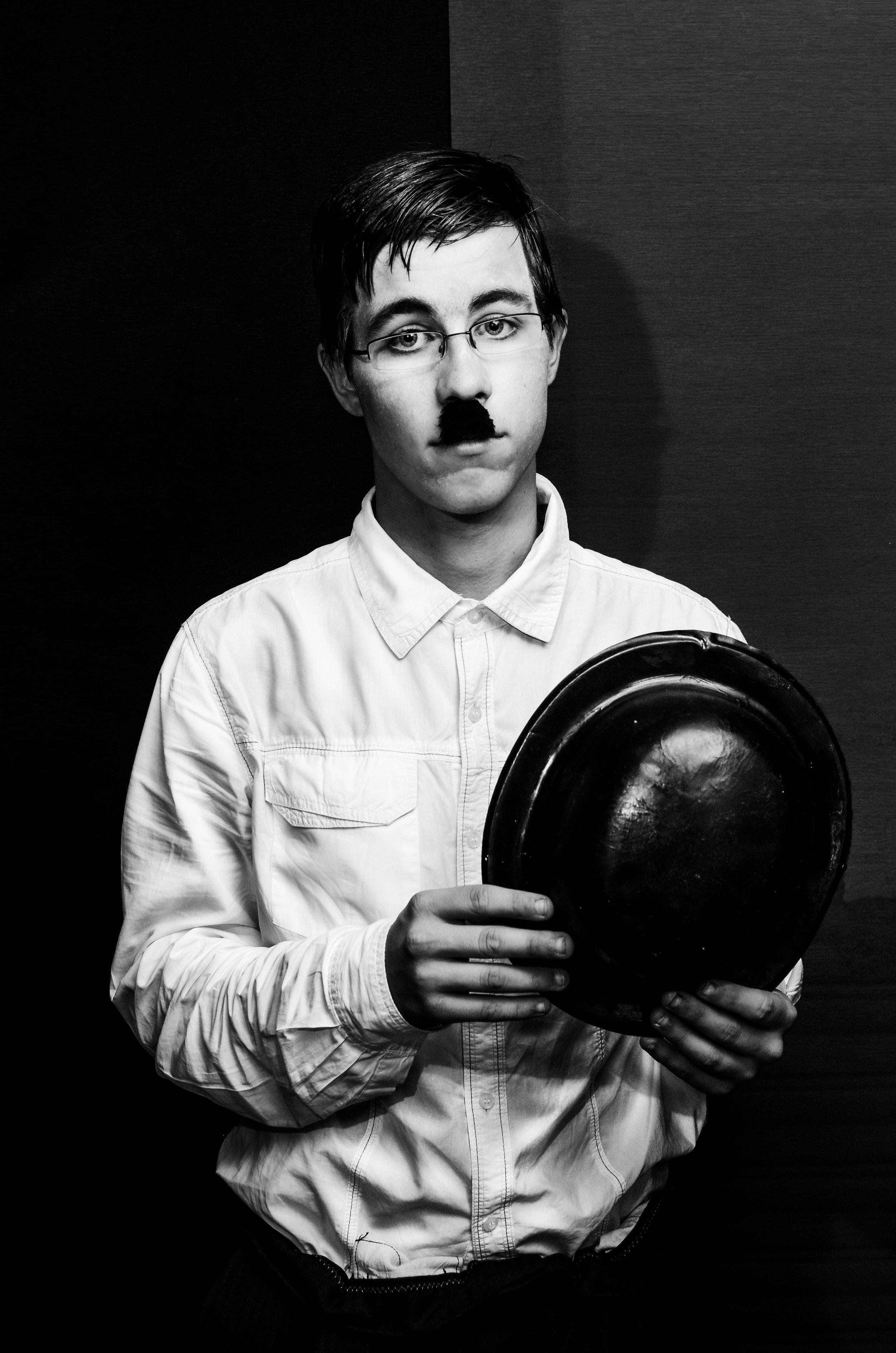 Konstantin Karchev as Charlie Chaplin