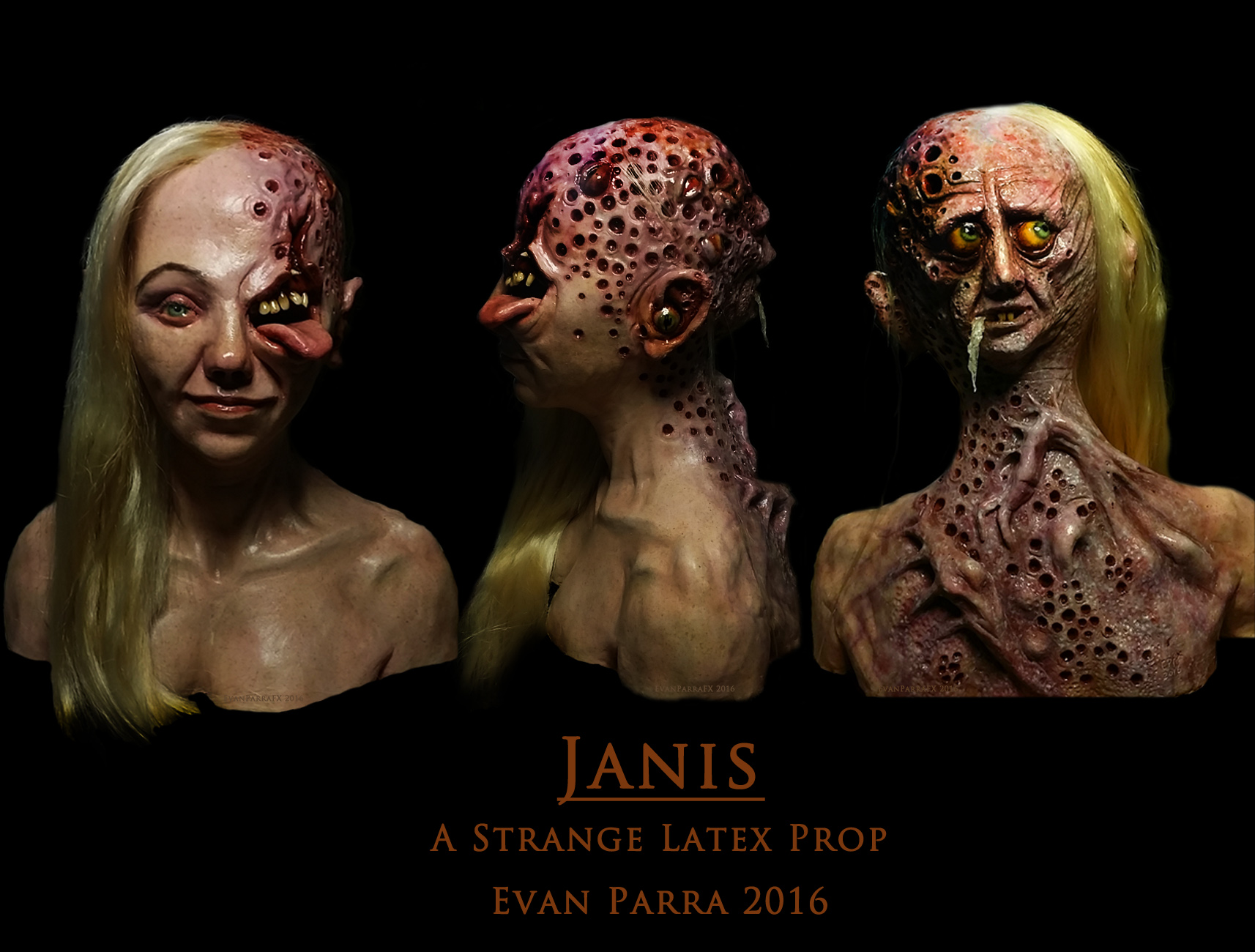 Janis - A Strange Latex Prop