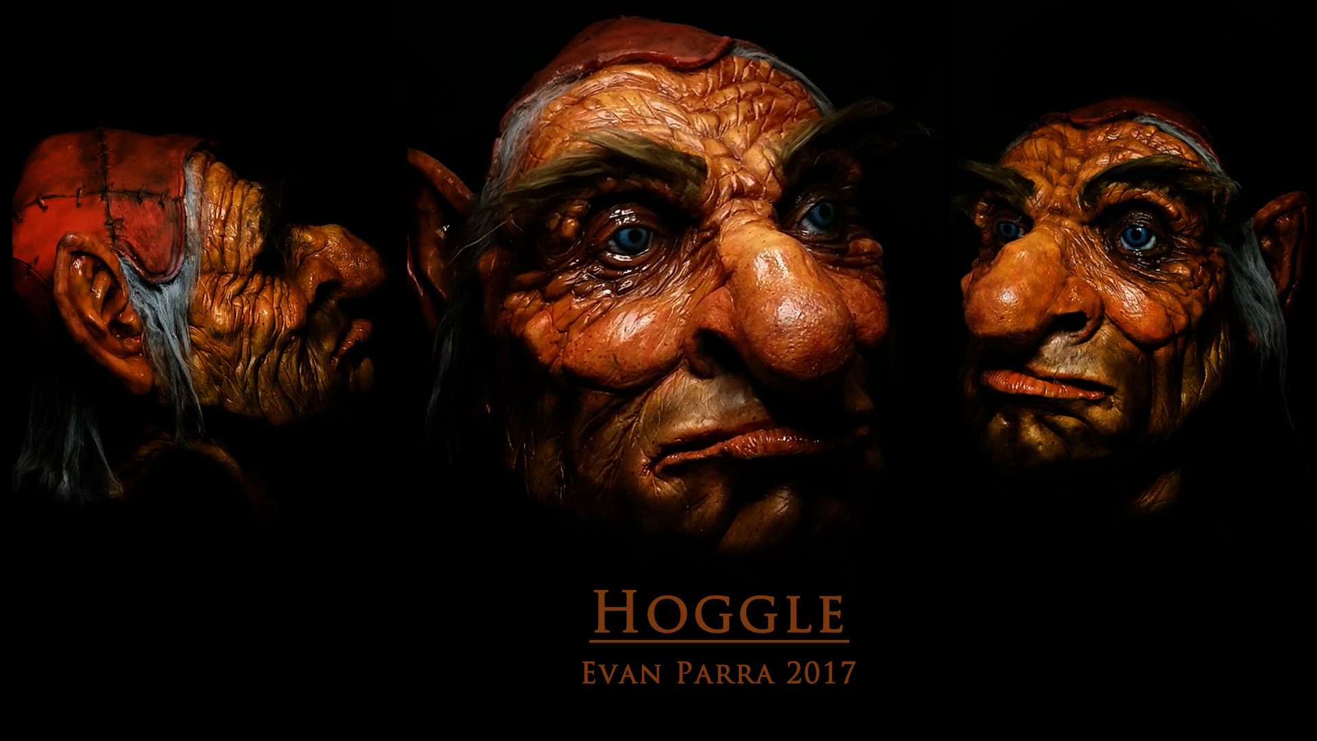 Hoggle Latex Mask