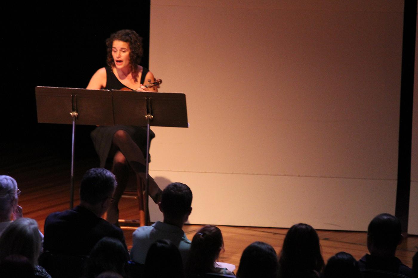 """Performing Lisa Bielawa's """"Kafka Songs"""""""