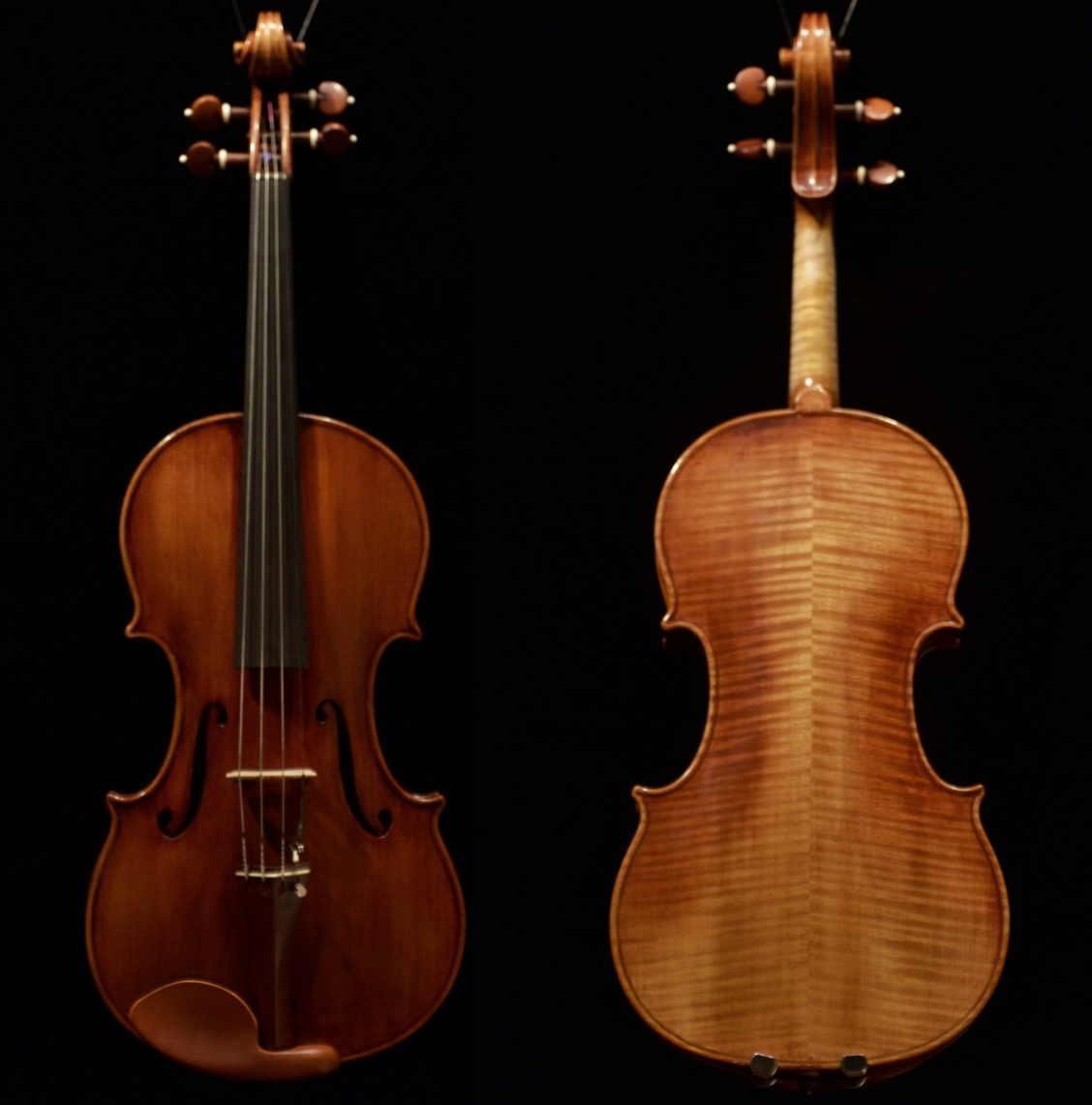 "The    Viola     Opus      4 6 4      in   the   quartet -    it     is   a    16""    viola"
