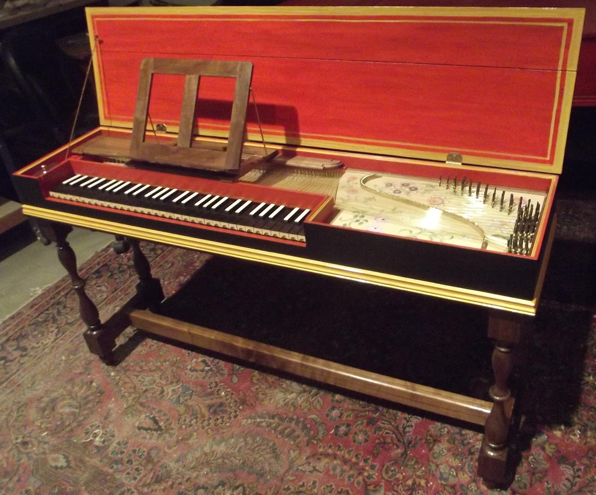 Opus 473 Clavichord after C. Hubert