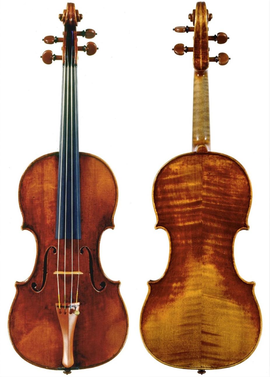 Violin by Guarneri, Giuseppe 'del Gesu' (Cremona, 1732)