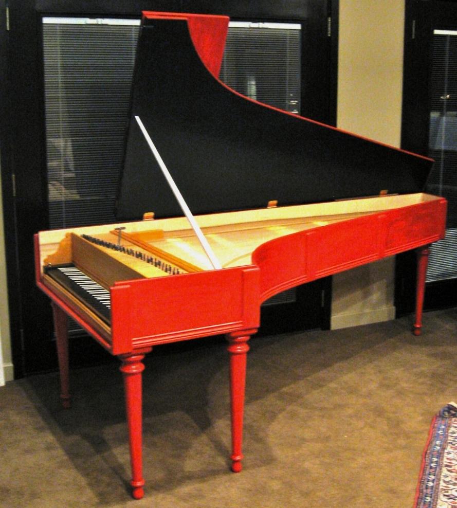 Cristofori fortepiano  Opus 444 made in 2012