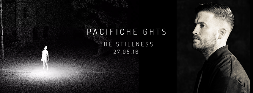 The Stillness is a collaborative multimedia art and music exhibition from musician/DJ/Producer Pacific Heights (Devin Abrams) and graphic designer/illustrator Matthew Eales.     SUITE Gallery - Wednesday 18th May - 7:30pm    241 Cuba street, Wellington.     To compliment the imagery at each of the one-night only events in Wellington and Auckland, Devin will play the album as an exclusive preview.    All works are available for purchase, enquire on the night.