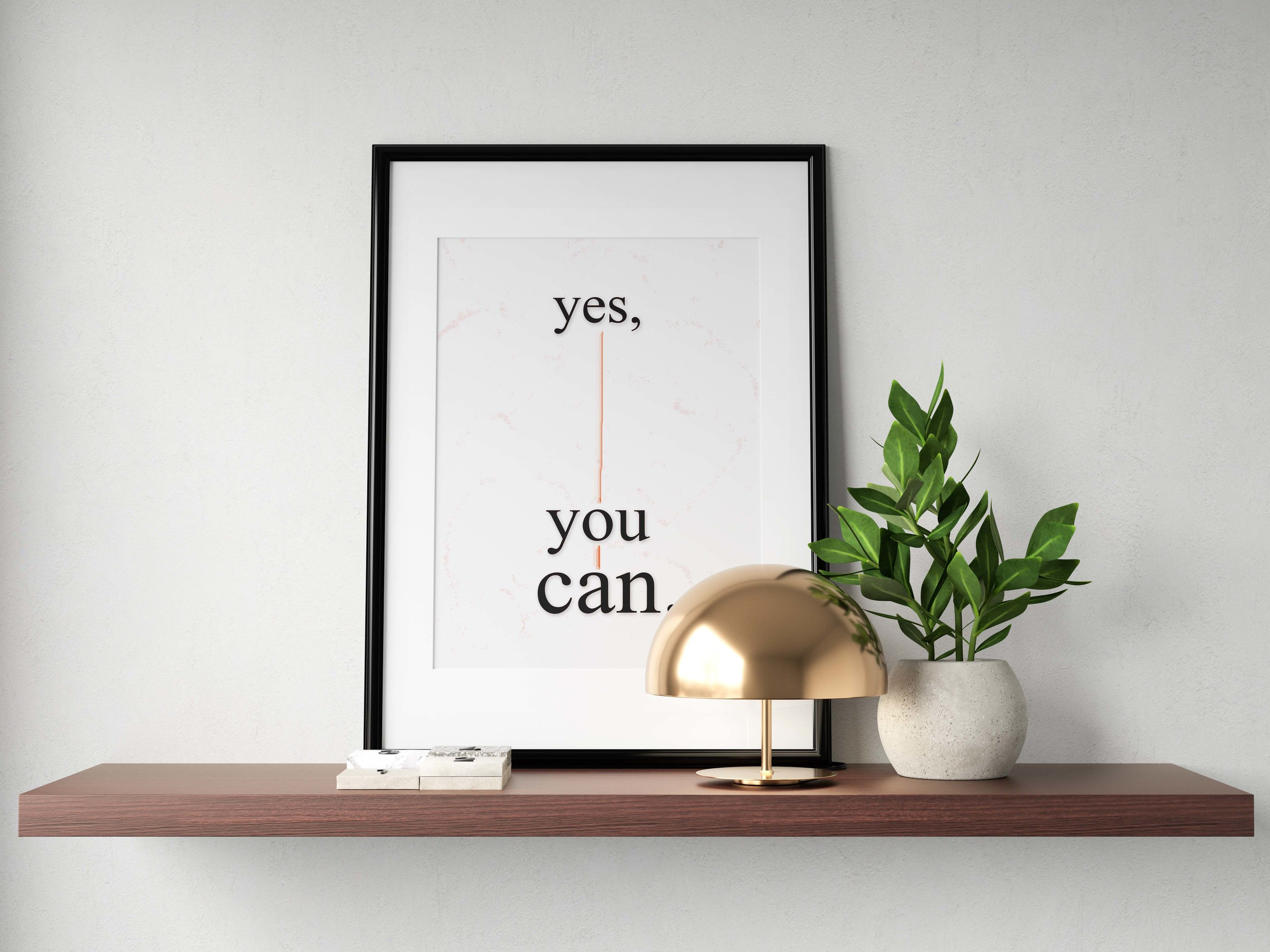 Yes, You Can - $12.00