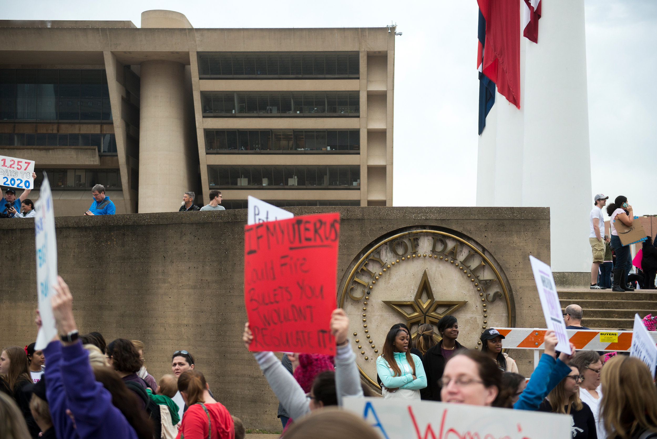 Dallas Women's March, Rally