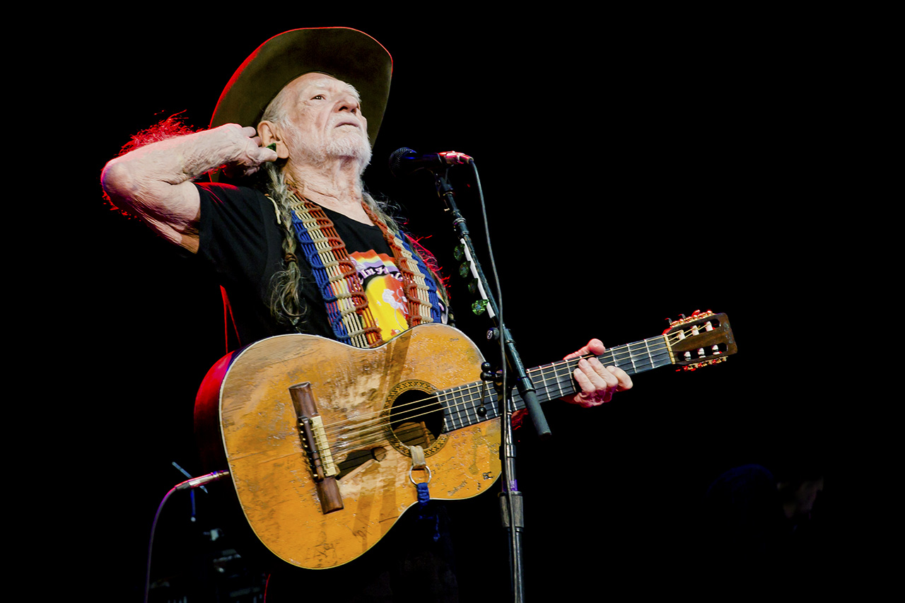 WILLIE NELSON (+ Trigger)   © Mandy Pichler 2018