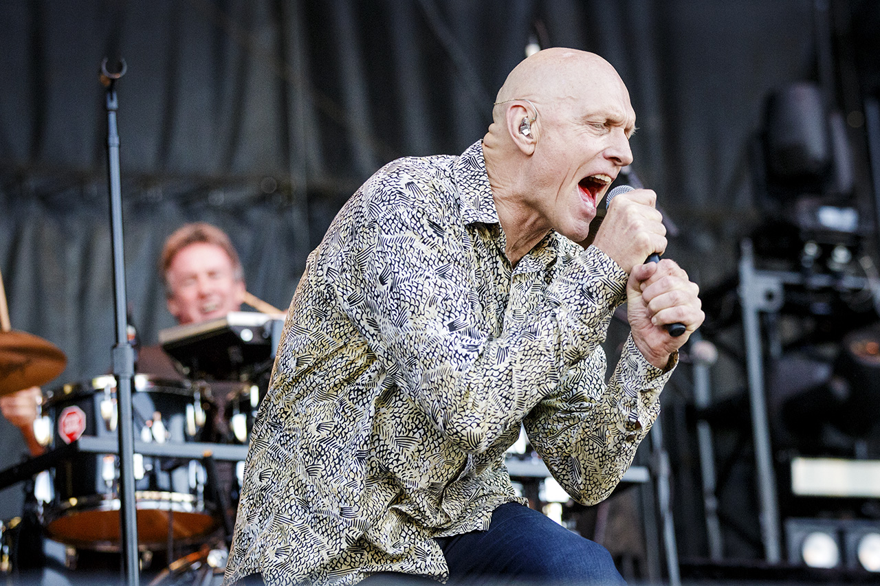 MIDNIGHT OIL // PETER GARRETT   © Mandy Pichler 2018