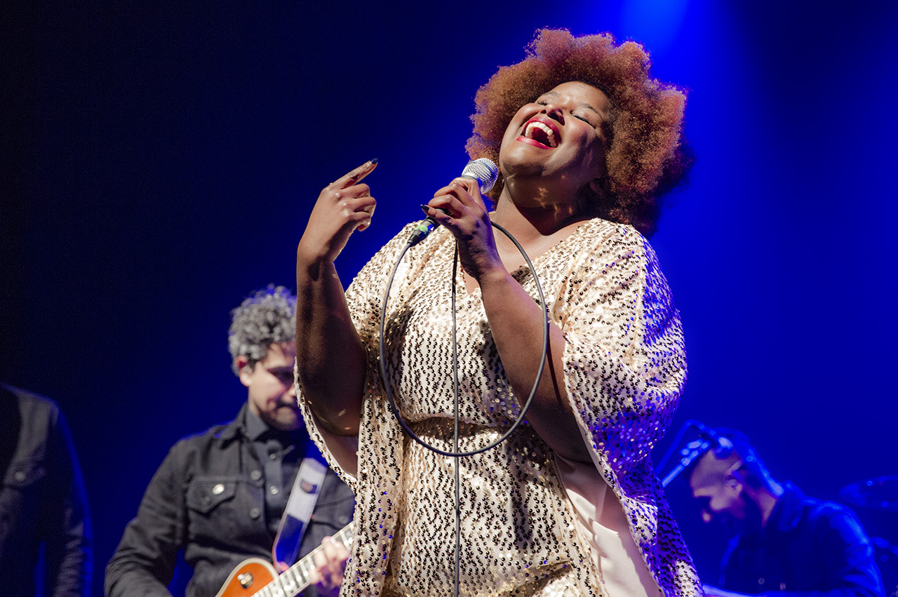 THE SUFFERS // Kam Franklin   © Mandy Pichler 2018