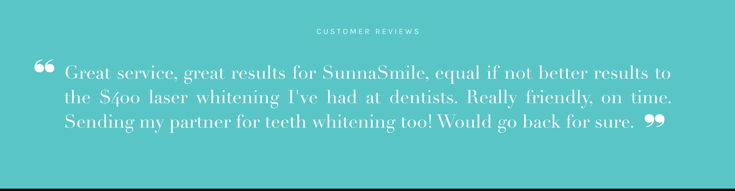 Teeth Whitening Reviews