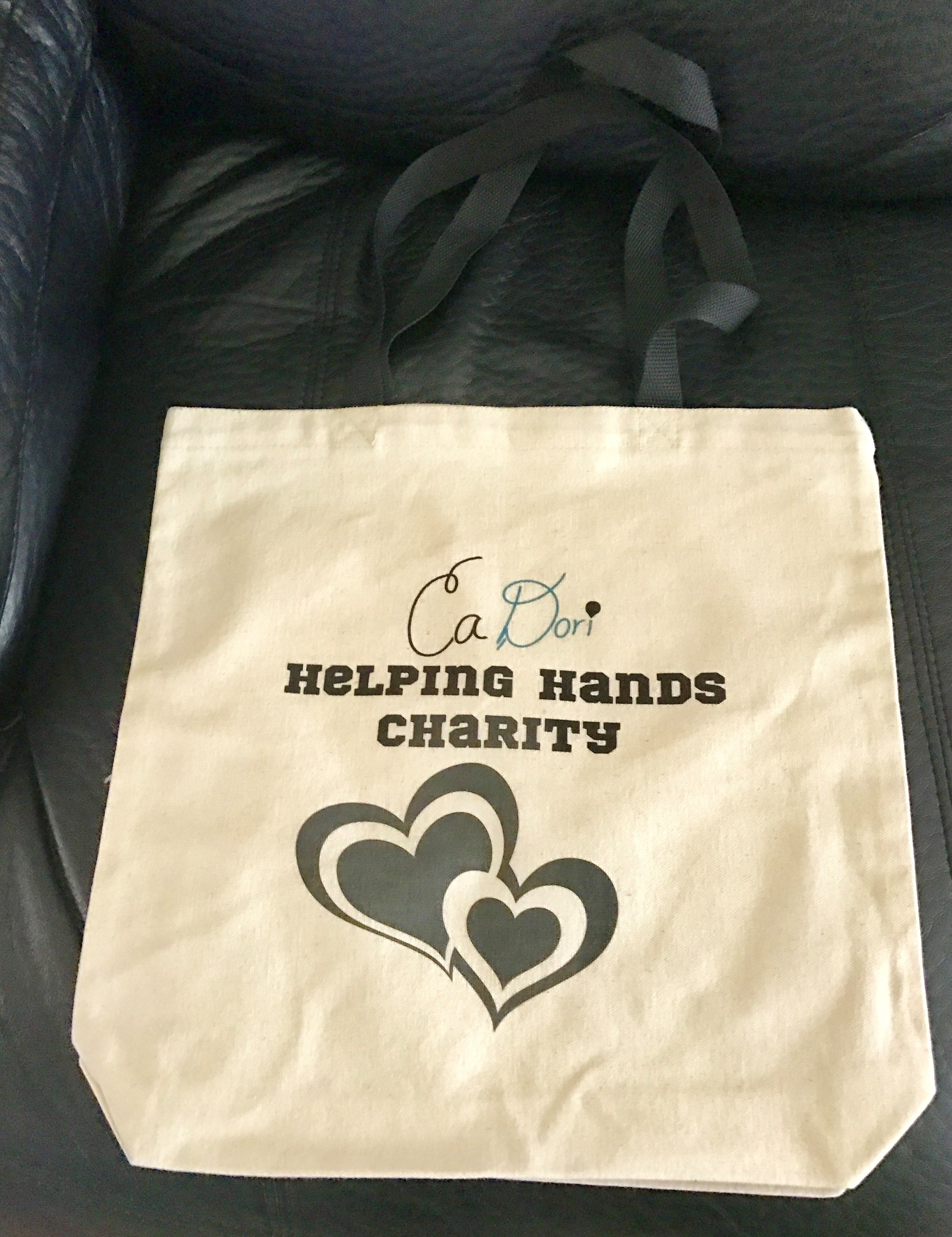 CaDori Helping Hands Tote Bag -    Available Now!