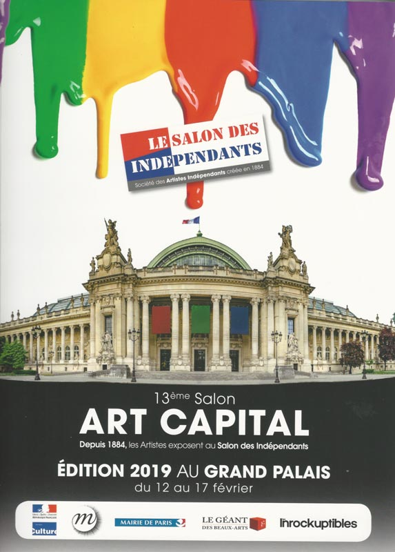 Salon des Indépendants - You'll find me in this catalogue of the annual show in Grand Palais, Paris 2019!