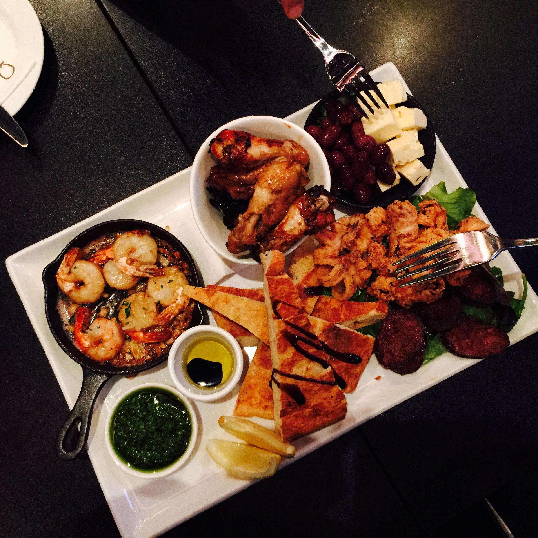 Tasting Plate - huge portion!