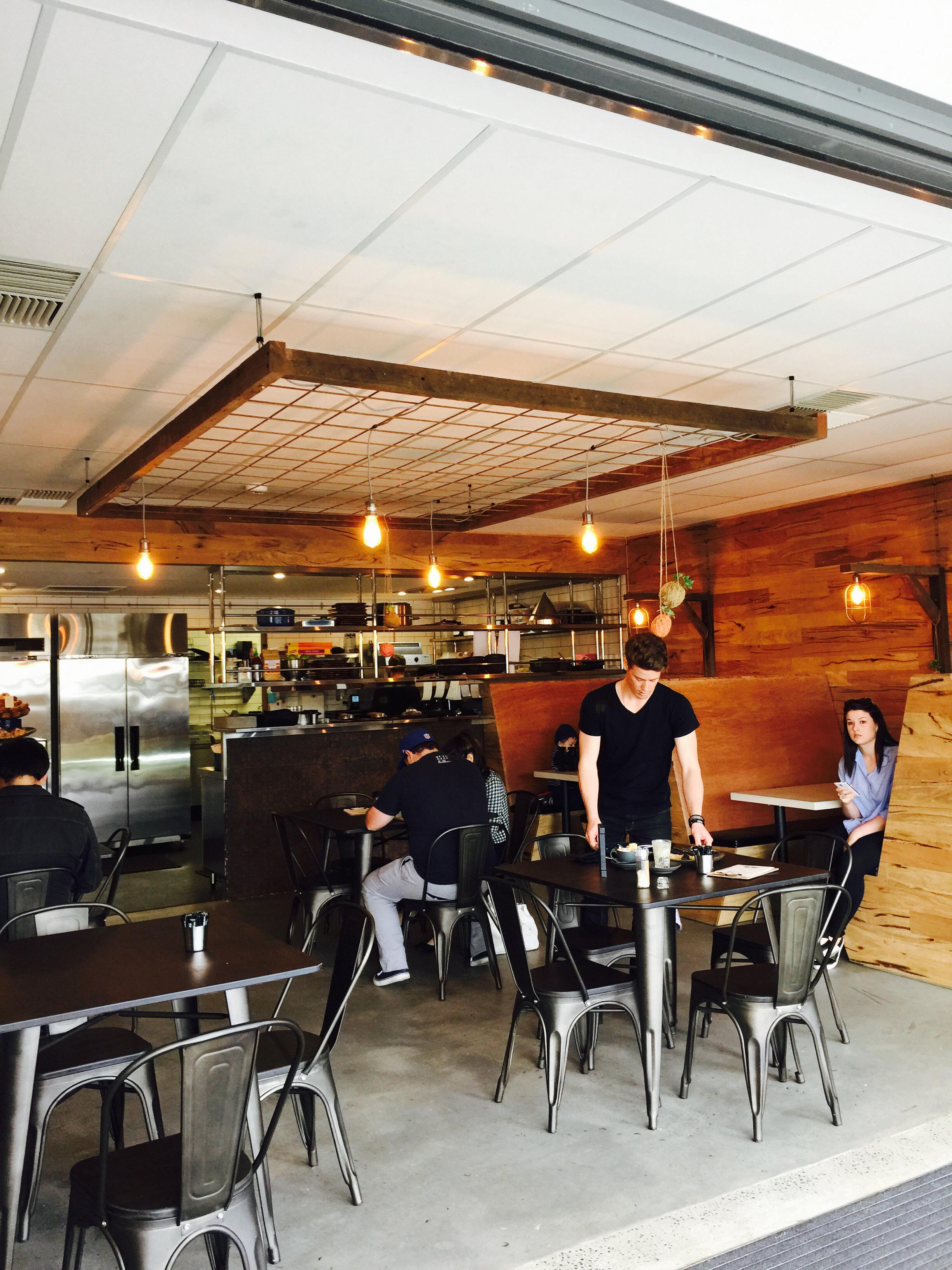 Timber Cafe Interior