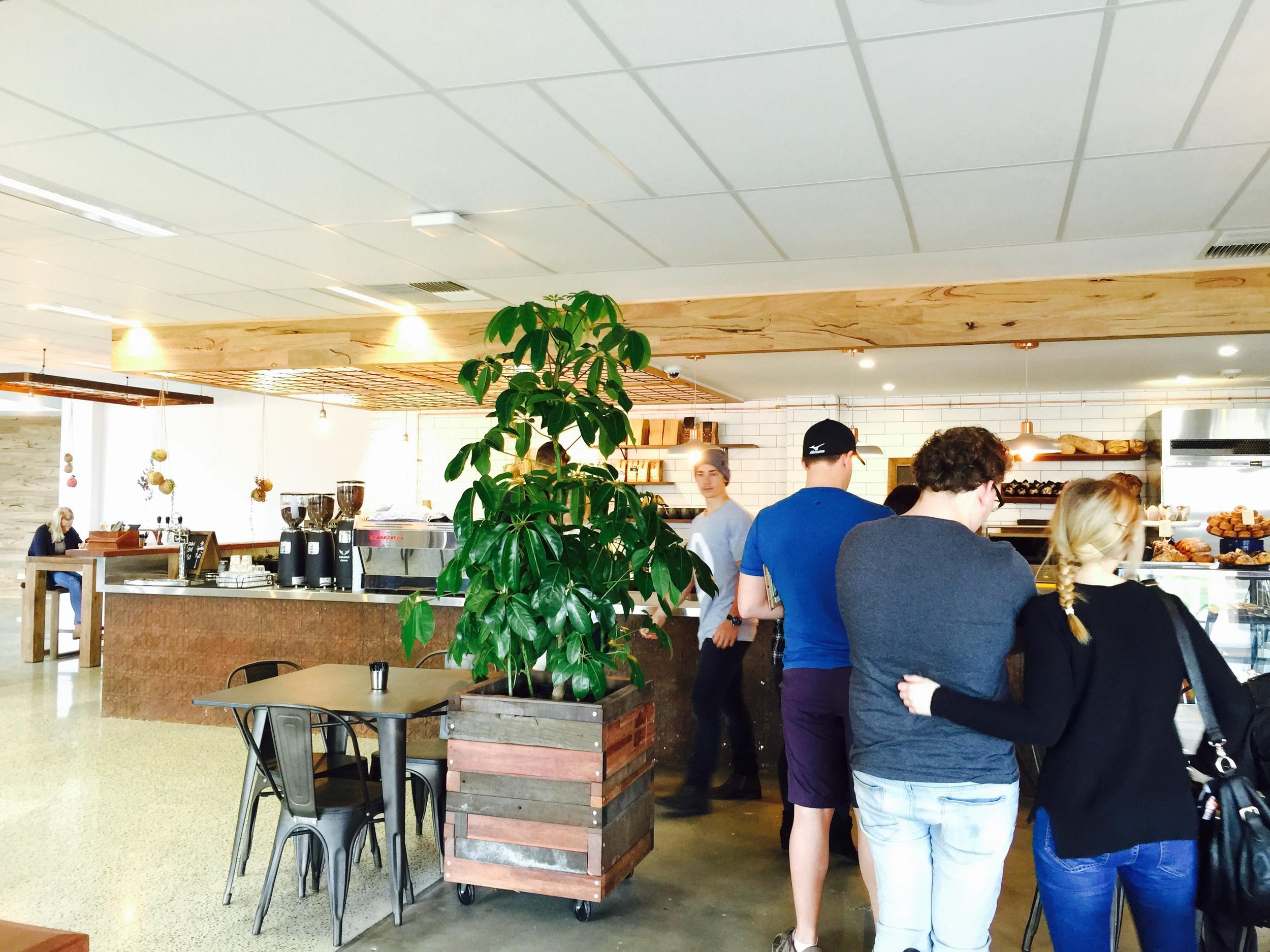 Timber Cafe Queue