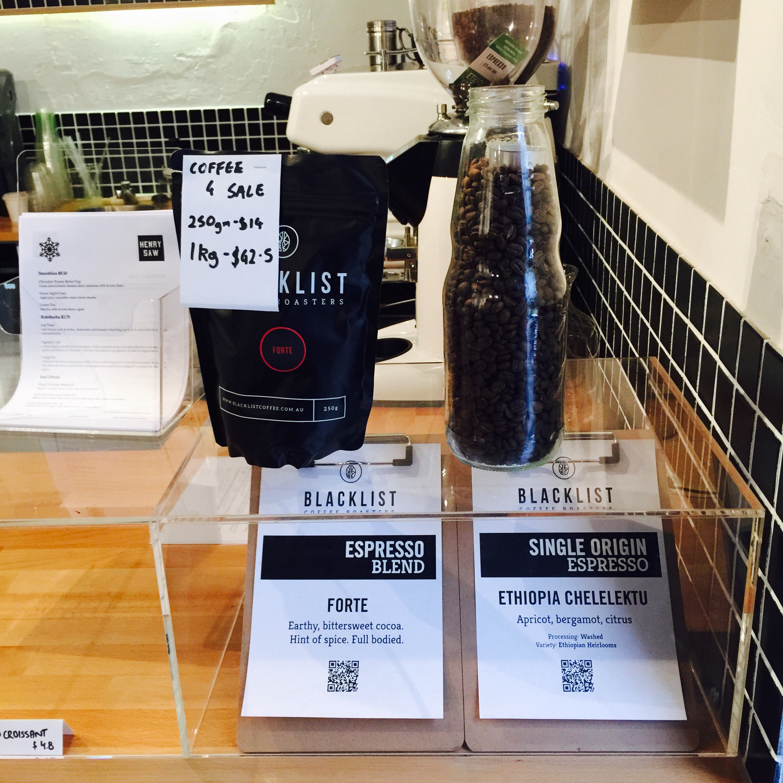 Blacklist Coffee Roasters Bean