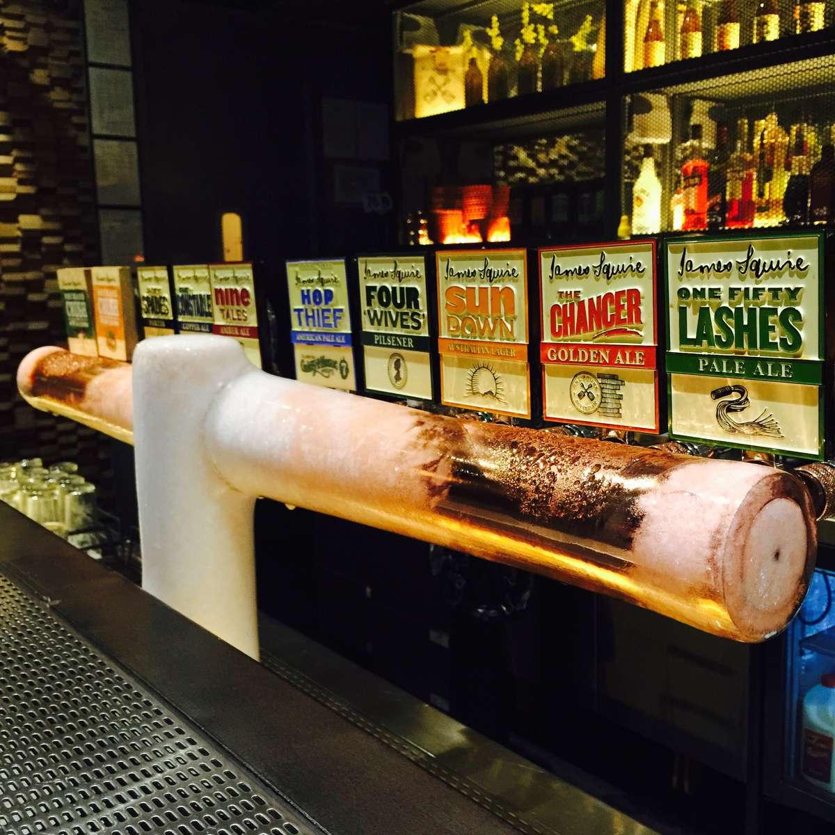 James Squire beers ciders
